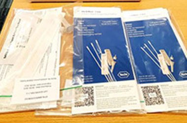COVID-19: Wittenborg Receives First Batch of Self-Test Kits for Students and Staff