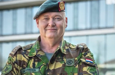 Director of NATO's Control Centre in Utrecht Thrills Students with Guest Lecture