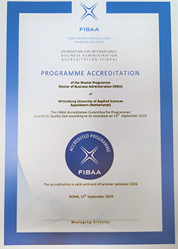 Good News as Wittenborg's MBA Programme Accredited for Another 7 Years