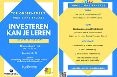 Wittenborg Entrepreneurial Students to Host 'Top Entrepreneurs' Free Masterclass in Amsterdam